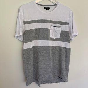 Ocean Current longline pocket Tshirt size L